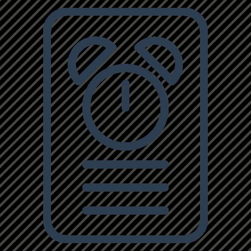 clock, reminder, schedule, timer icon