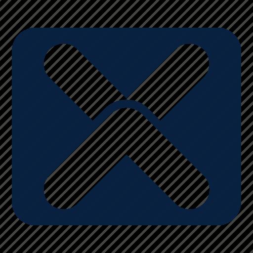 back, close, cross, remove icon