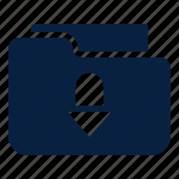 data, download, file, transfer icon