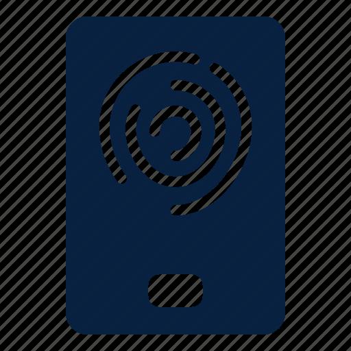 Finger, print, security, sensor icon - Download on Iconfinder