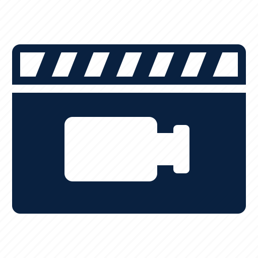 clip, movie, record, video icon
