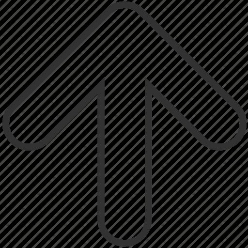 above, arrow, direction, up, upload, upward icon