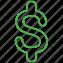 finance, money, bill, dollar, cash, currency