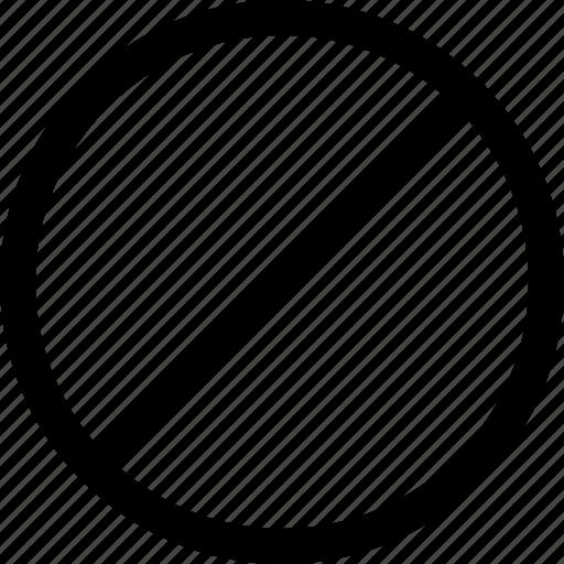 Denied, false, forbidden, no, revoke icon - Download on Iconfinder