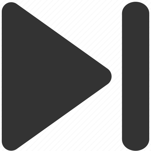 arrow, arrows, end, forward, last, skip icon