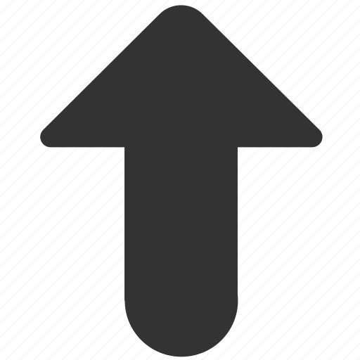 above, arrow, direction, top, up, upload, upward icon