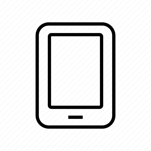 device, ipad, laptop, roundedsolid, tablet icon