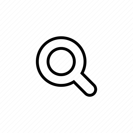 explore, find, look, require, roundedsolid, search icon