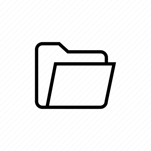 case, document, file, folder, paper, roundedsolid icon