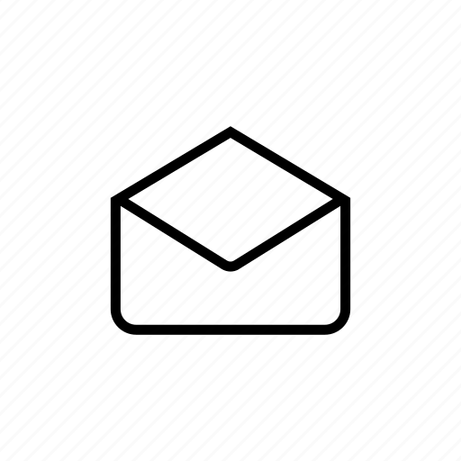 email, examine, mail, read, roundedsolid icon