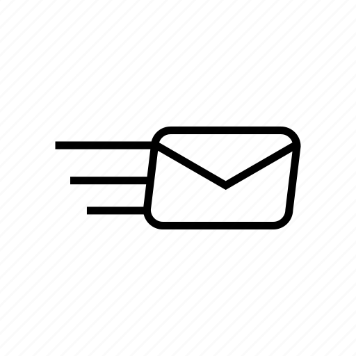 email, mail, roundedsolid, send, sent icon