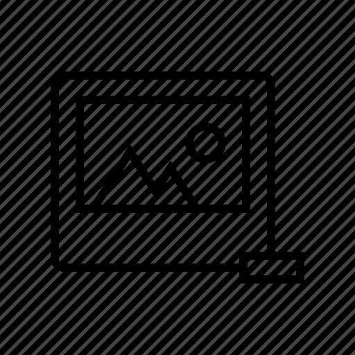 delete, image, photo, remove, roundedsolid icon