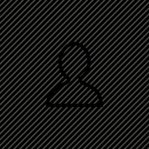 boy, male, men, profile, roundedsolid icon