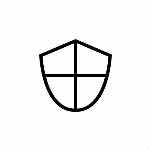 defend, protect, protection, roundedsolid, safety, shield icon