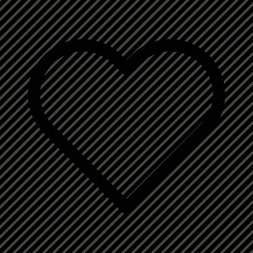 like, love, ui, ux icon