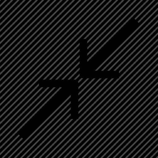arrow, scale, ui, ux icon