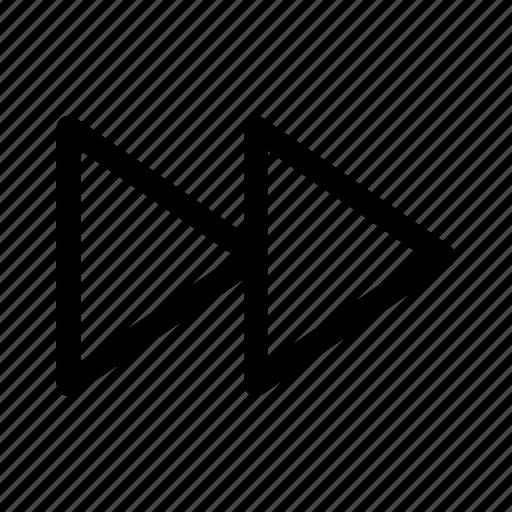 forward, next, ui, ux icon