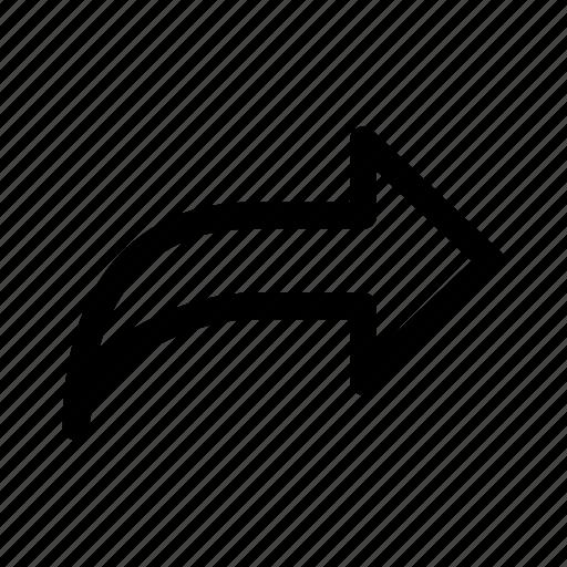 arrows, right, ui, ux icon