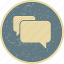 bubbles, chat, conversation, message icon