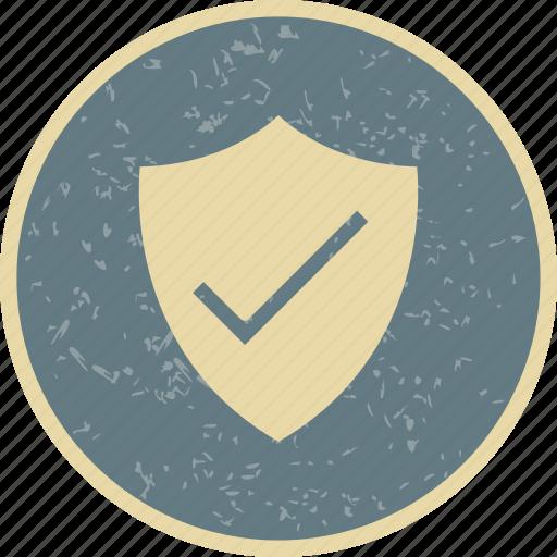 badge, shield, valid icon