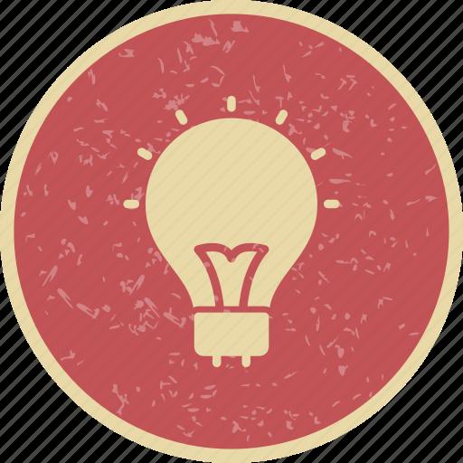 Bulb, idea, basic ui icon - Download on Iconfinder