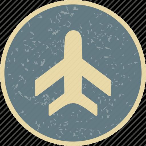aeroplane, airplane, flight icon