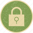 lock, pad lock, password, protected icon