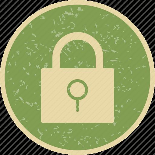 basic ui, lock, pad lock, password, protected, security icon