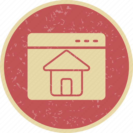 home, home page, web page icon