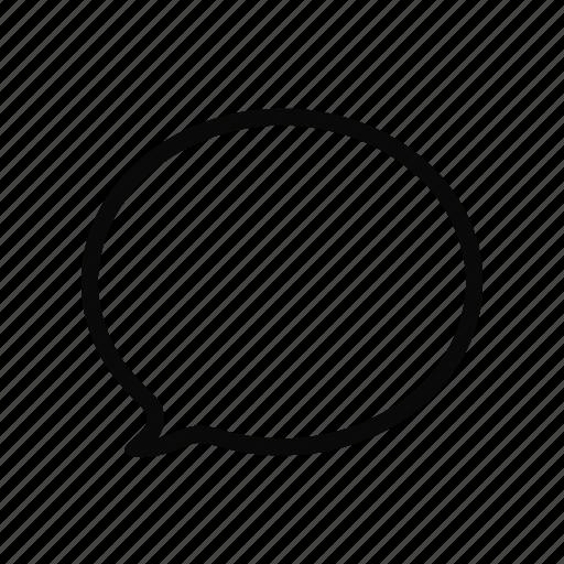 bubble, comment, communication, conversation, message, social, speech icon