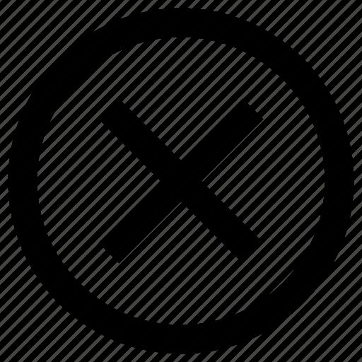 Cancel, close, delete, remove icon - Download on Iconfinder