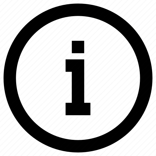 faq, i, info, information, letter icon