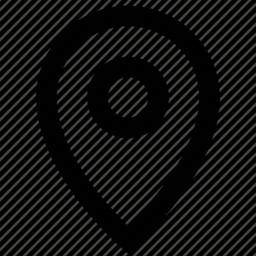 destination, location, marker, navigation, pin icon