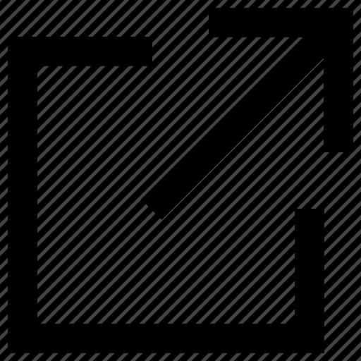 arrow, send, transfer, up, upload icon