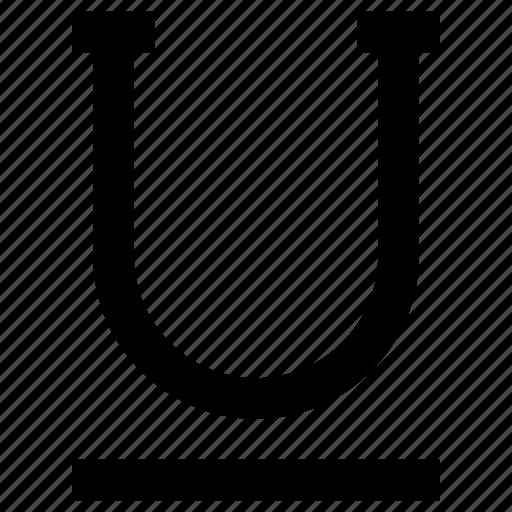 Opentype, text, type, underline, write icon - Download on Iconfinder