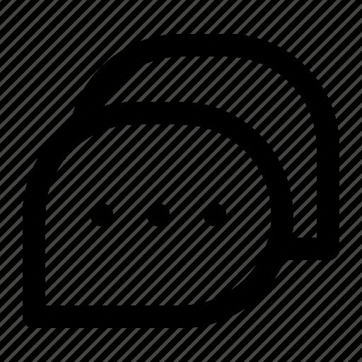 bubble, chat, communication, conversation, interface, mail, message icon