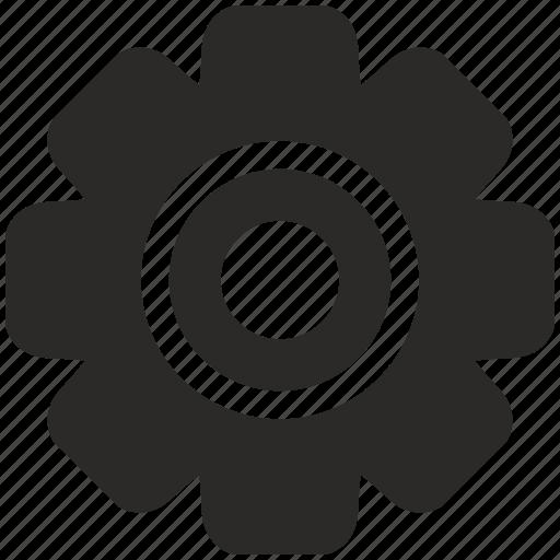 cog, cogwheel, engine, gear, part, wheel icon