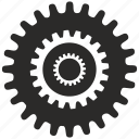cog, cogwheel, complex, engine, gear icon