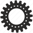 cog, cogwheel, detail, engine, gear, part icon