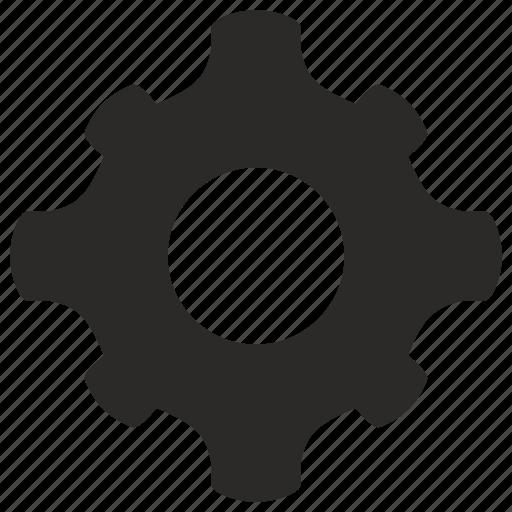 cog, cogwheel, detail, gear icon