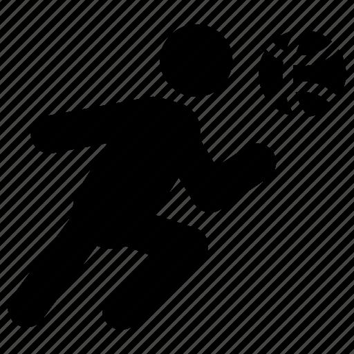 Athlete, basketball player, soccer player, sportsman, sportsperson icon - Download on Iconfinder