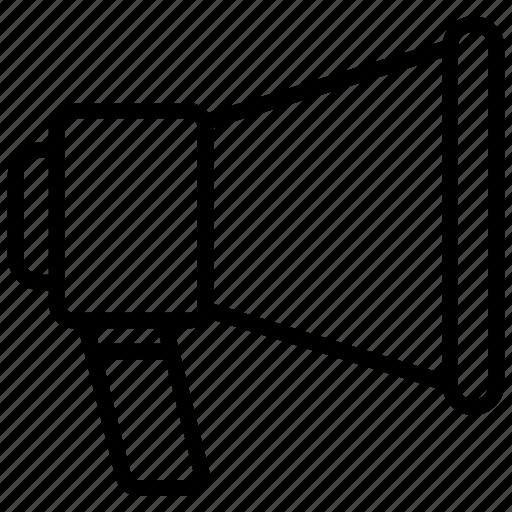 Announcement, communication, loudspeaker, megaphone, promotion icon - Download on Iconfinder