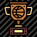 award, basketball, champion, trophy
