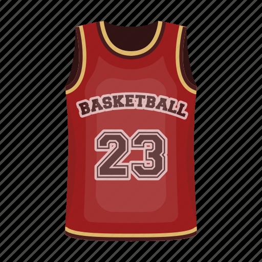basketball dinner number player sport t shirt uniform icon