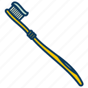 brush, brushing teeth, teeth, toothbru, toothbrush icon