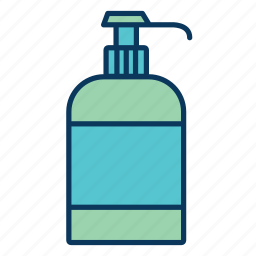 balsam, bottle, cosmetics, hygiene, liquid soap, lotion icon