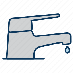 faucet, spigot, tap, water icon icon