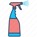 cleaning, glass sprayer, hygiene, sprayer, sprinkler, window, window cleaner icon