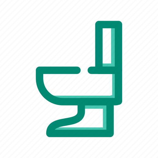 bath, closet, disposal, room, toilet icon