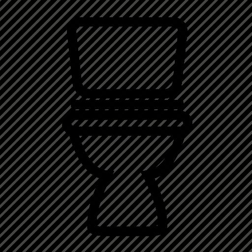 bathroom, toilet icon